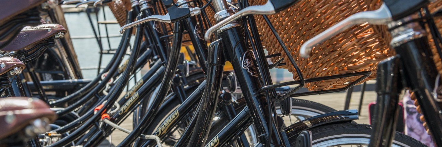 Pashley bicycle hire